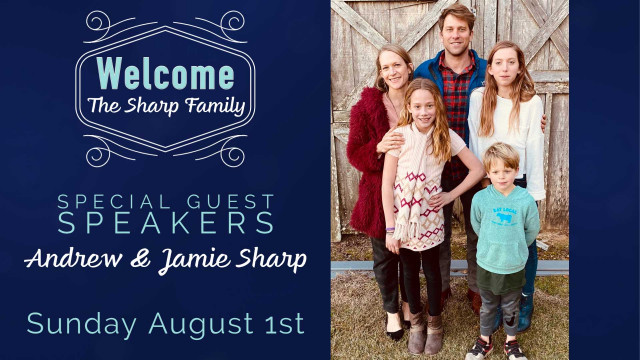 Sharp Family Guest Speakers
